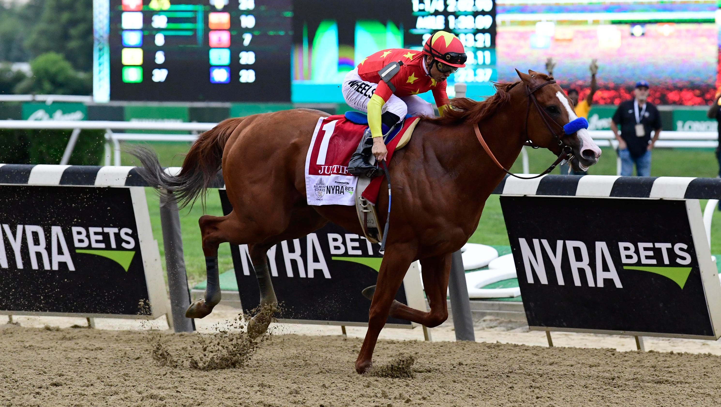 Triple Crown winner Justify will continue racing through 2018