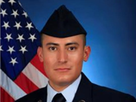 U.S. Air Force Airman 1st Class Isaiah J. Soliz of Coachella.