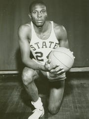 In his first season out of the Marines, Johnny Green led the Spartans to the Final Four in 1957.