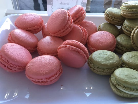 Sweet Sammie Jane's makes more than 80 flavors of macarons.