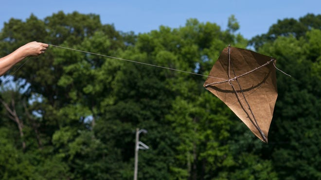 We're sure you don't tell your kids to go fly a kite, but how cool would it be to not only fly one together, but make it yourselves?