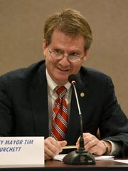 Knox County Mayor Tim Burchett