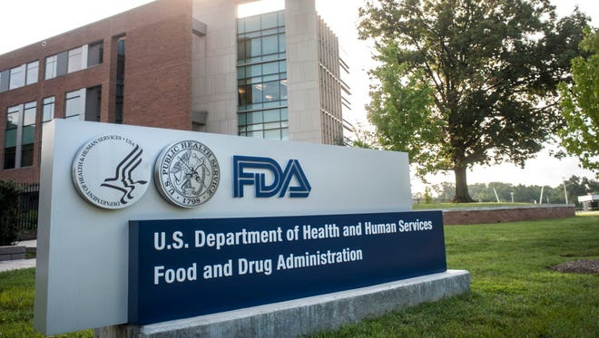 The Food and Drug Administration building in Silver Spring, Md.