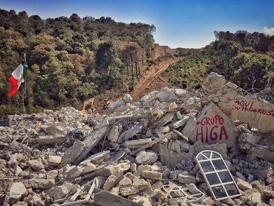 CONSTRUCCIÓN DE UNA AUTOPISTA PONE EN RIESGO COMUNIDAD INDÍGENA MEXICANA