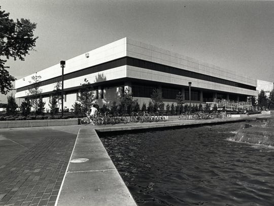 A photo from the 1980s of the library on the campus of what was then known as Southwest Missouri State University. DEA agent John Cornille says he was told by Bob Paillet that Paillet conducted research at the library that led to the Nazi method.