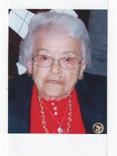 Mary received numerous awards and accolades during her lifetime, including Littlestown Outstanding Citizen Award, Gettysburg Soroptimist Club Humanitarian Award and Lifetime Achievement Award from the Stonesifer King Legacy Guild as well as several commendations from the American Red Cross and Gettysburg Hospital Auxiliary, according to her obituary.
