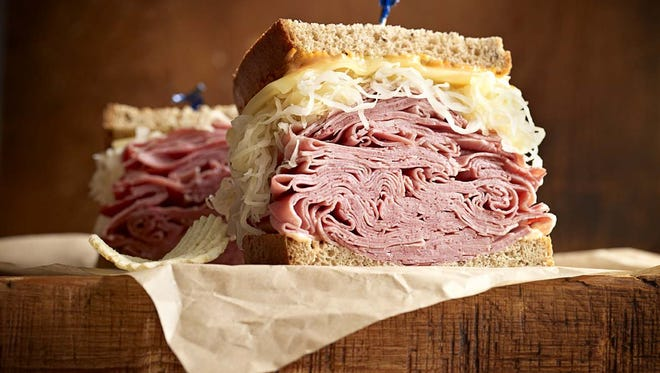Reuben the Great-Hero from Jason's Deli.