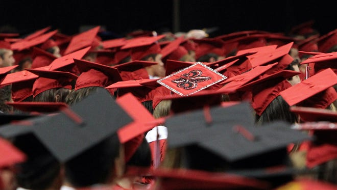 The 2014 UL Commencement Exercises General Assembly will be held Saturday at the Cajundome in Lafayette. Leslie Westbrook, The Advertiser