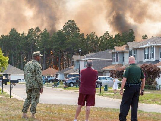 Weatherstone wildfire