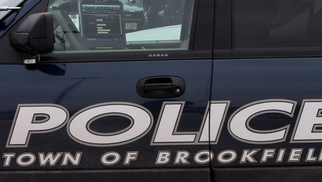 Town of Brookfield Police Department squad car