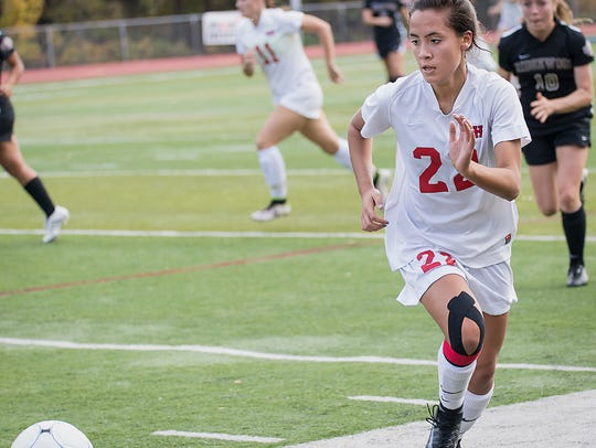 Claudia Dipasupil and Northern Highlands are ranked