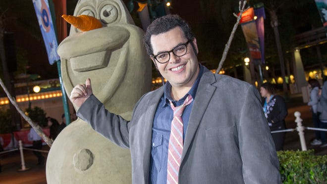 "Josh Gad (the voice of Olaf from ""Frozen"") says he likely won't be joining the Broadway production of ""Frozen."""