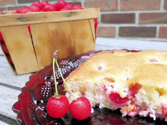 Cherry Pudding is a great use for this year's bountiful cherry harvest.