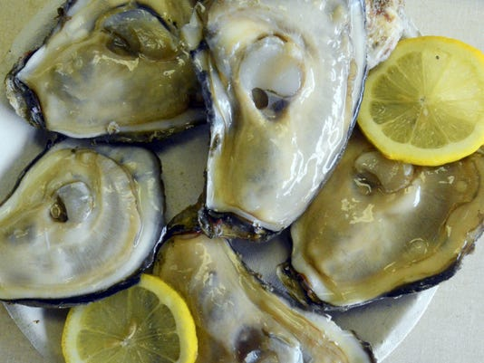 """Tuesday, March 10, 2015--York Fish & Oyster Co. is hosting an """"Oyster Extravaganza"""" featuring all manner of oyster preparations at the Waterway Bar & Grill immediately following the St. Patrick's Day Parade Saturday. Bill Kalina - bkalina@yorkdispatch.com"""