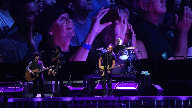 Bruce Springsteen and the E Street Band, Aug. 30, 2016 at MetLife Stadium in East Rutherford.