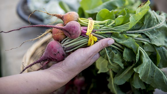 Root vegetables like beets are rich in fiber.