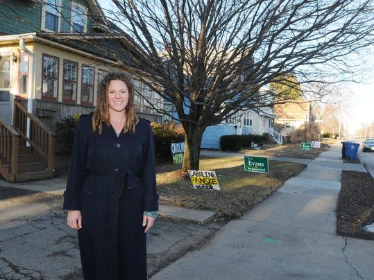 OSH Mayor Election Caroline Panske 033015 JS 01A.jpg
