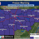 Middle Tennessee under freeze warning this weekend