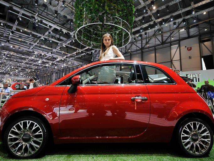 A car built around fun: the Fiat 500 convertible
