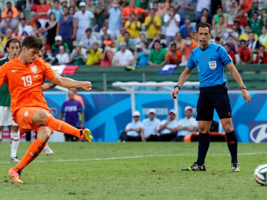Brazil Soccer WCup Netherlands Mexico