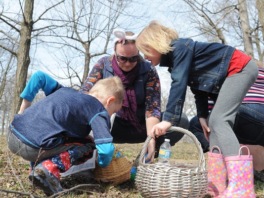 Rotary Club organizes Easter Egg Hunt