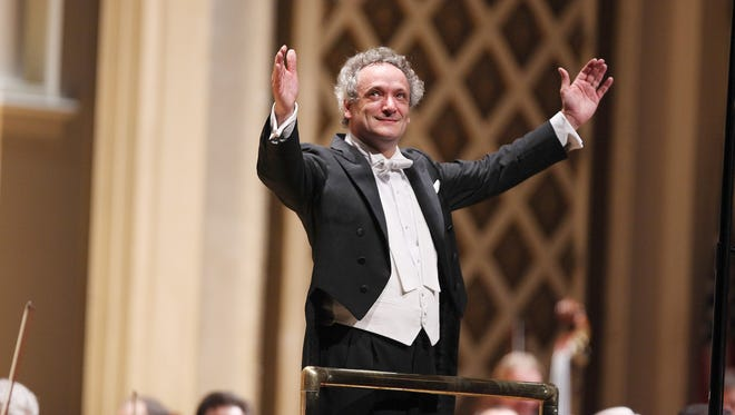 """Cincinnati Symphony Orchestra's music director, Louis Langrée concluded the CSO's season in Music Hall with Beethoven's """"Eroica"""" and a world premiere by Zhou Tian."""