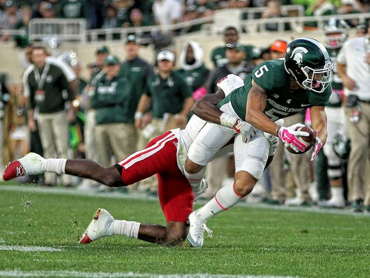 Michigan State Spartans  wide receiver Hunter Rison