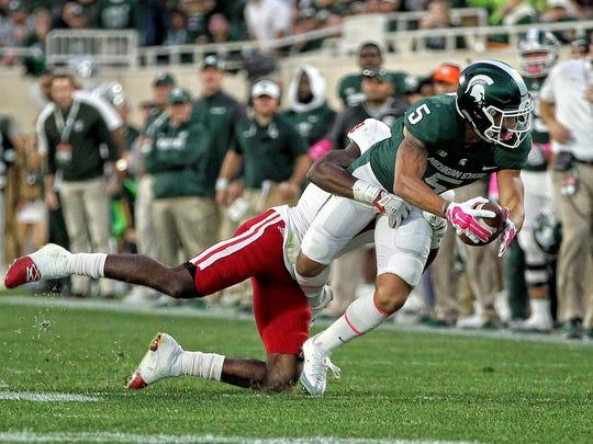Michigan State Spartans  wide receiver Hunter Rison