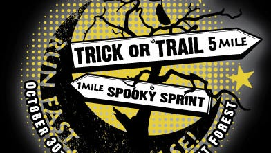 The inaugural Trick or Trail 5-mile trail race  and 1-Mile Spooky Sprint is Oct. 30 in DuPont State Recreational Forest.