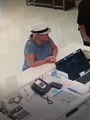 New videos have been released showing Lois Riess, the woman accused of killing Pamela Hutchinson in Fort Myers Beach, at a hotel in Ocala, Fla.