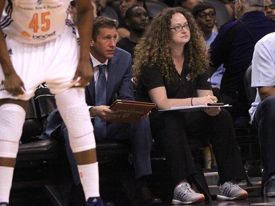 Tamara Poole, head athletic trainer for the Phoenix