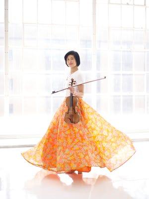 Violist Jennifer Koh will perform at the Ojai Music Festival this weekend.