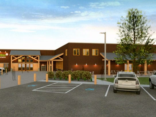 A rendering of GreenStar's expansion project