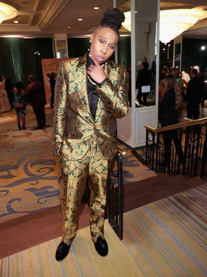 Lena Waithe attends the 2018 Essence Black Women in Hollywood Awards luncheon on March 1.