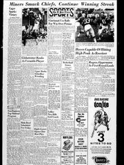 The sports page that ran on Jan. 7, 1966.