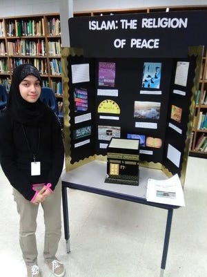 OHS student Mugadas Swati won second place in the Region IV Social Studies Fair Feb. 11 at the University of Louisiana at Lafayette.