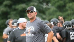Steve Tenhagen, who led Burlington to a share of the 2013 title, will have the Demons in the hunt again