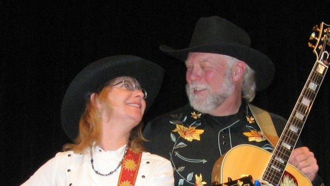 The Ramblin' Rangers, Brad and Bonnie Jo Exton, will share the bill Thursday at Luna Rossa Winery in Deming.