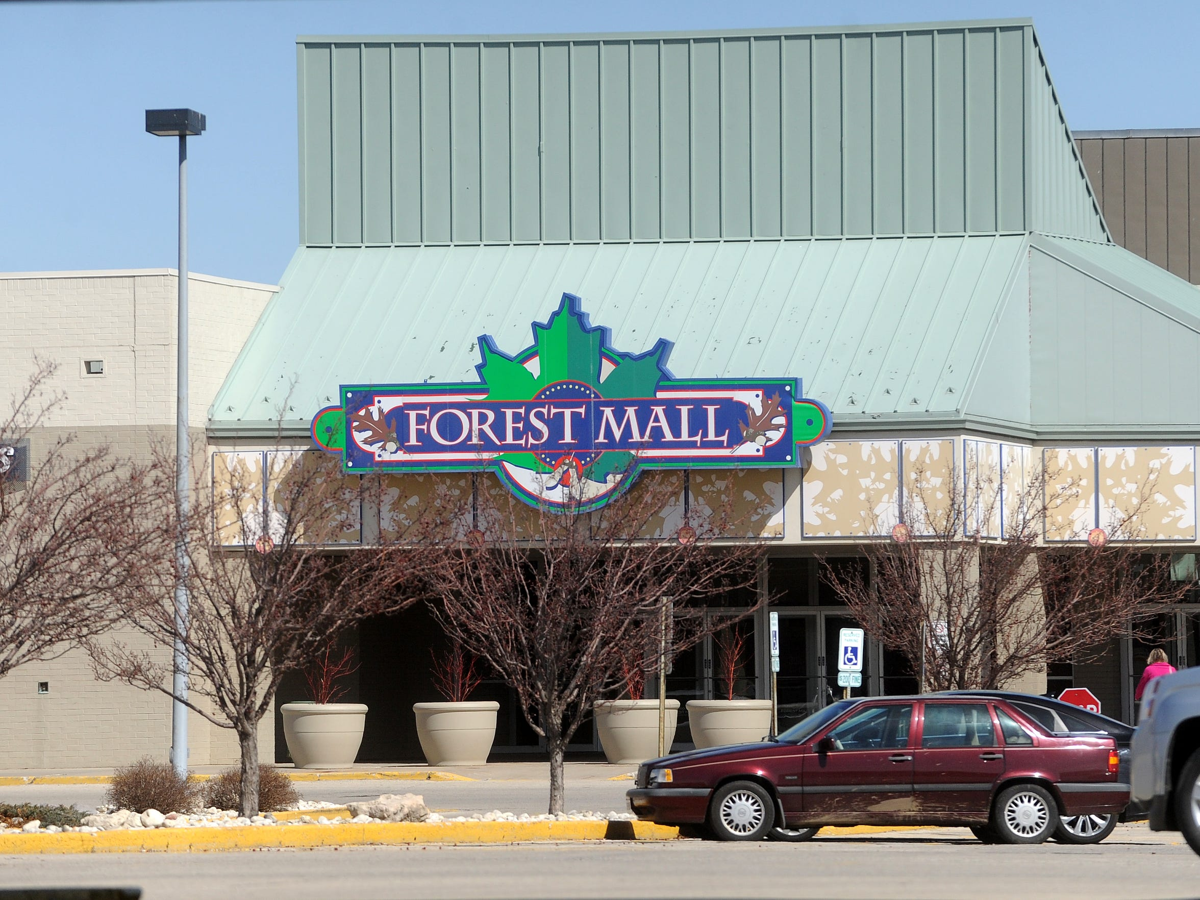 The Forest Mall in Fond du Lac was the site of a bold