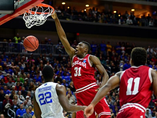 NCAA Basketball: NCAA Tournament-Second Round-Kentucky vs Indiana