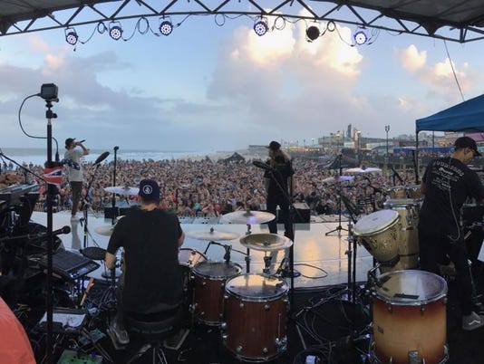 Dirty Heads in Seaside Heights