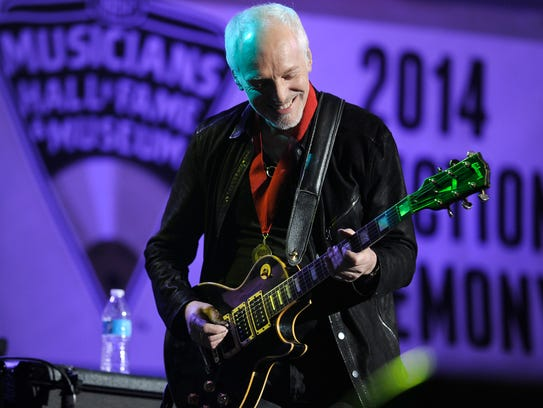 Peter Frampton at The Musicians Hall of Fame & Museum