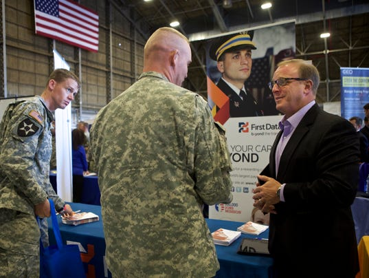 AP JBLM VETERANS JOBS SUMMIT DAY 3 OF 3 A CPACOM USA WA