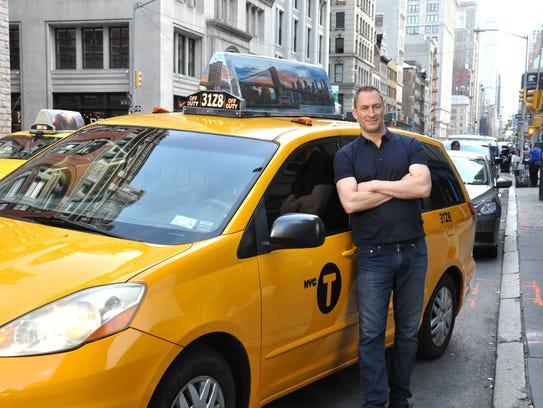 """Ben Bailey began hosting """"Cash Cab"""" in 2005."""