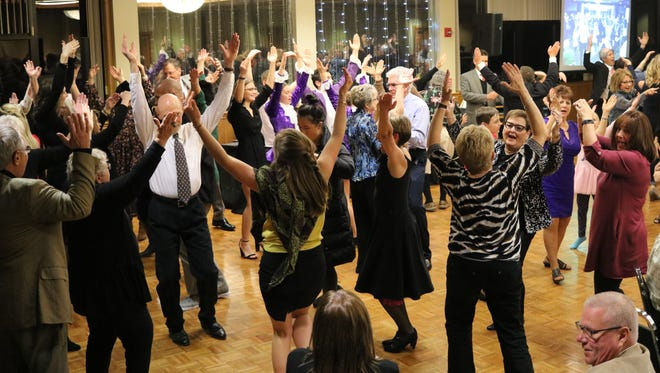 """Ottawa County CASA's """"Dancing with the Stars"""" Season 10 raised over $15,000 for the Ottawa County Family Advocacy Center in November 2017."""