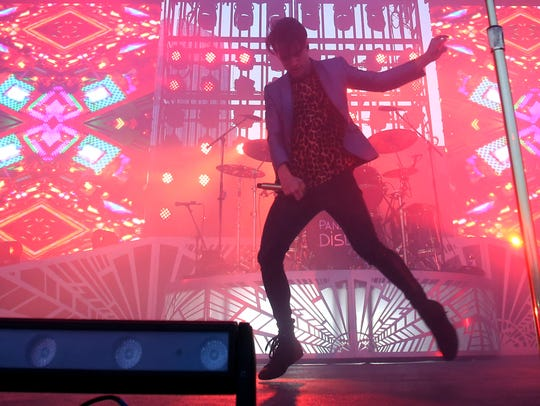 Panic! At the Disco performs at Ascend Amphitheater