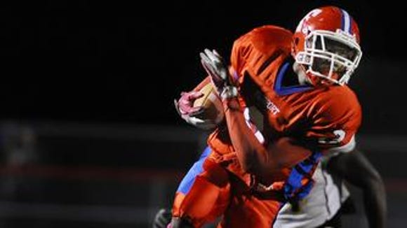 Fairport senior Marquis Young scored 12 touchdowns last season.