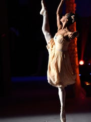 Ballerina Misty Copeland performed at the Kennedy Center