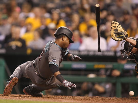 Arizona Diamondbacks second baseman Jean Segura (2)