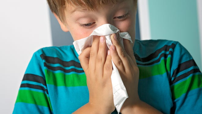 When seasonal allergies or flu season nears, keep tissues accessible to your kids.